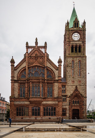 Derry City Hall/Guildhall, 1890