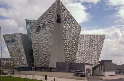 Titanic Museum in Belfast Harbor, 2012