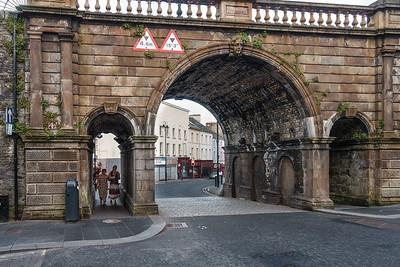 Street Gate of Derry City Walls