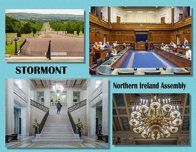 """Stormont. Sometimes referred to as """"Parliament Buildings"""""""