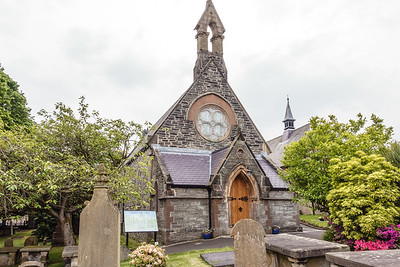 St. Augustine's Church within City Walls, AKA Wee Church on the Walls. Site of St. Columb's first monastery in ireland, 546.