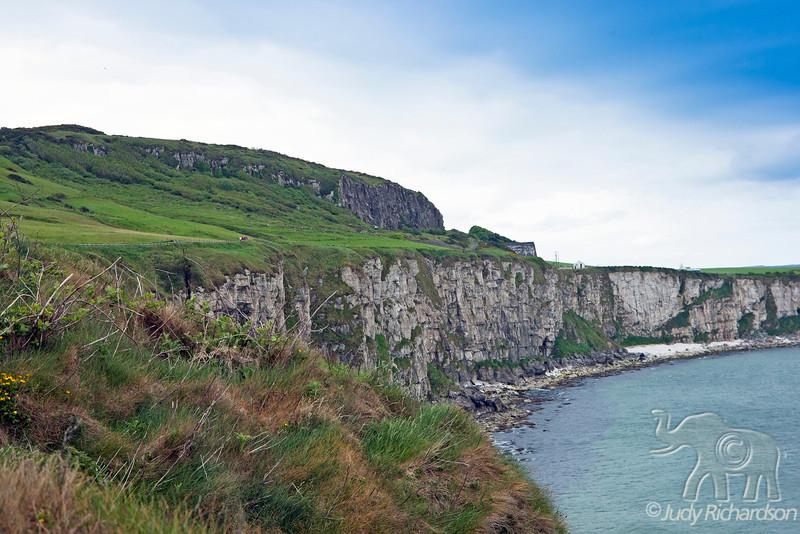 Atrium Coast view from Carrick-a-Rede Rope Bridge ~ Northern Ireland