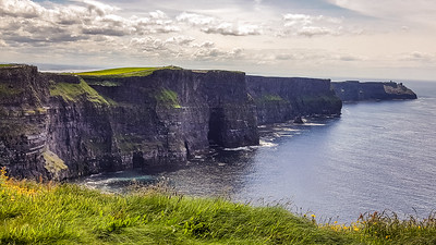 Cliffs of Moher, formed over 300 million years ago;  stretching 5 miles; sandstone, siltstone & shale.