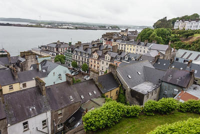 View of Cobh from St. Colman's