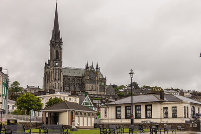St. Coleman's Cathedral, view from waterfront