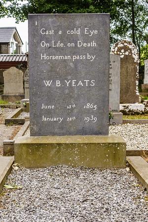 Y. B. Yeats burial site,