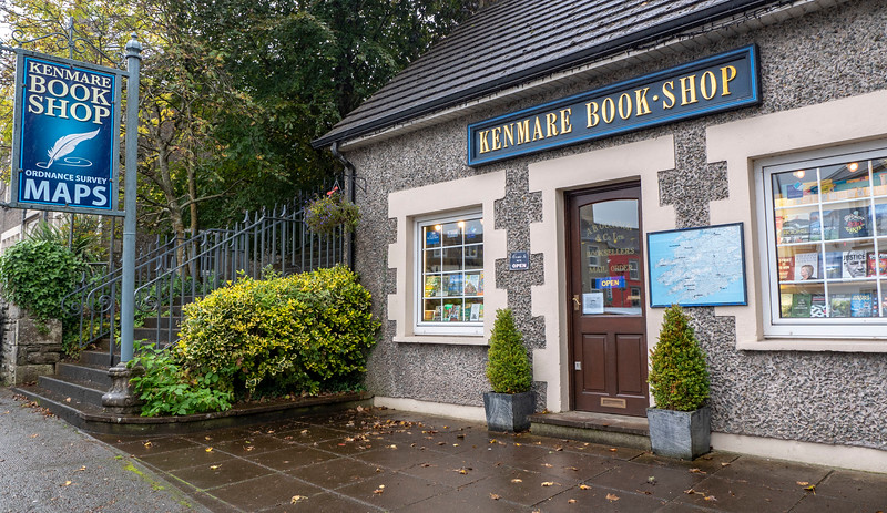 Town of Kenmare - Driving the Ring of Kerry - Kenmare Book Shop