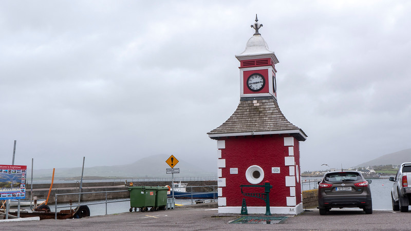 The Clock Tower in Knightstown, Valentia Island