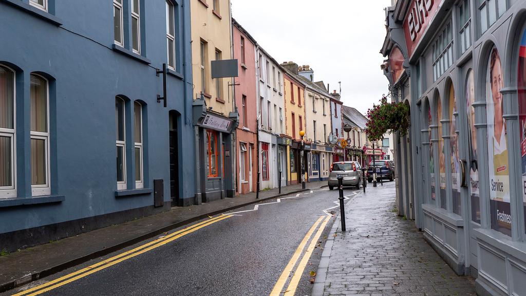The town of Killorglin, Ireland