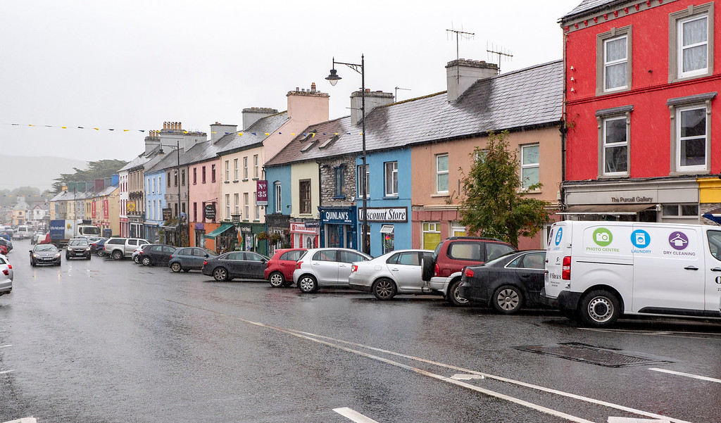 Town of Kenmare - Driving the Ring of Kerry