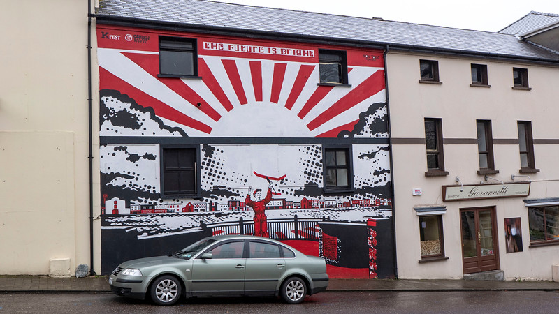 Street art in Killorglin, Ireland