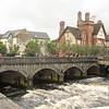 Douglas Hyde Bridge  over River Garavogue, Sligo, Co Sligo
