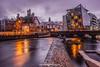 Garavogue River and the Weir, Sligo, Ireland.
