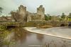 River Suir and Cahir Castle, Cahir, Tipperary, Ireland.