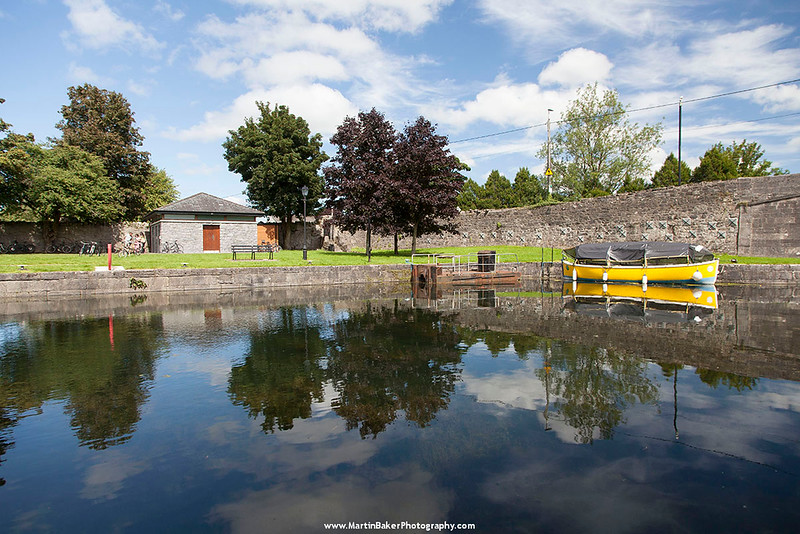 The Harbour, The Royal Canal, Harbour Street, Mullingar, Westmeath, Ireland.