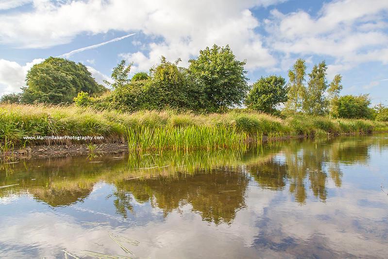 The Royal Canal, Mullingar, Westmeath, Ireland.