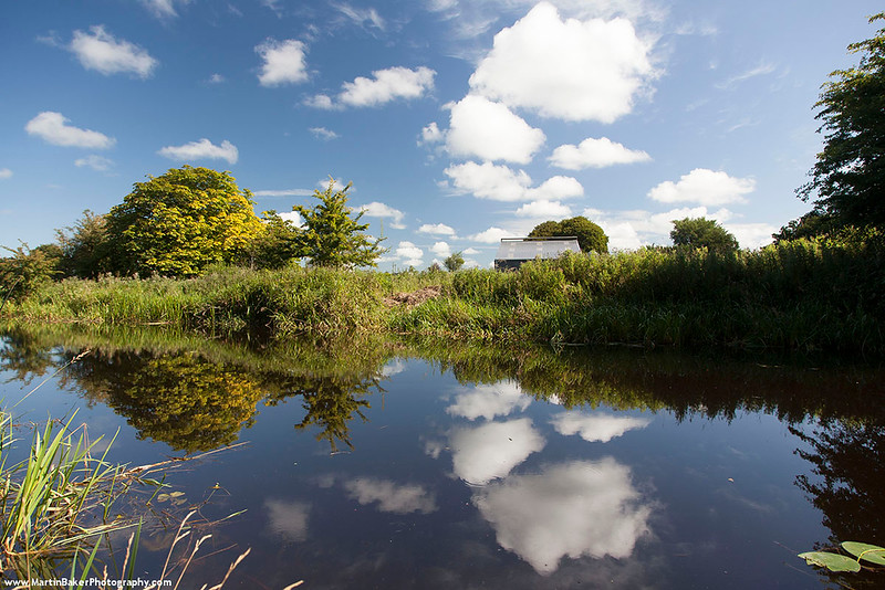 The Royal Canal, Coralstown, Mullingar, Westmeath, Ireland.