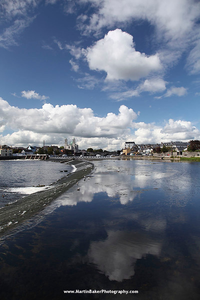 The River Shannon, Athlone, Westmeath, Ireland.