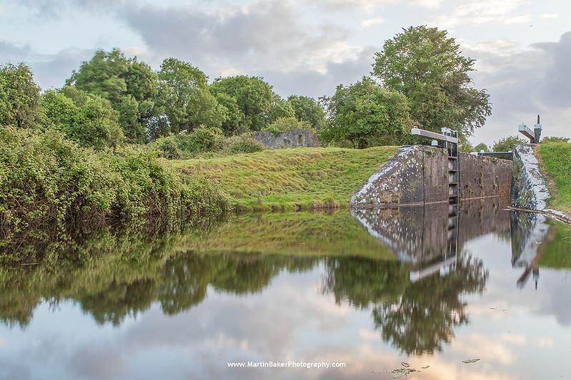 The Royal Canal, Thomastown, Westmeath, Ireland.