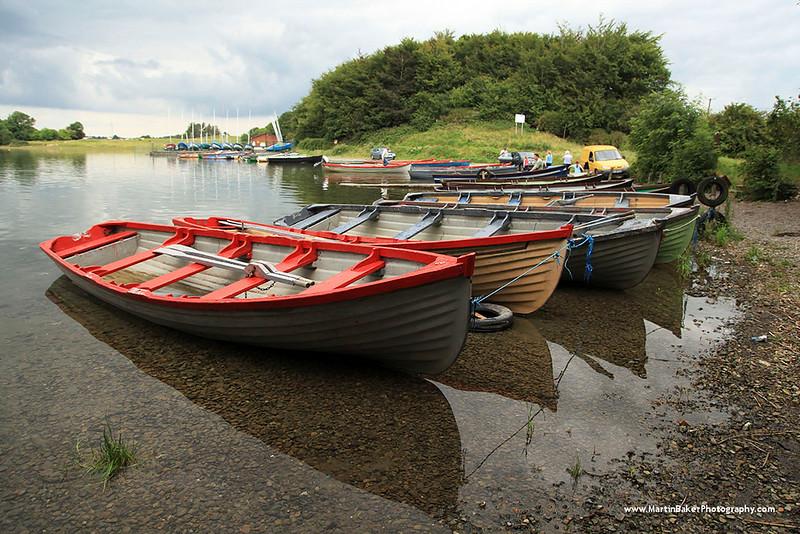 Lough Owel, Mullingar, Westmeath, Ireland.