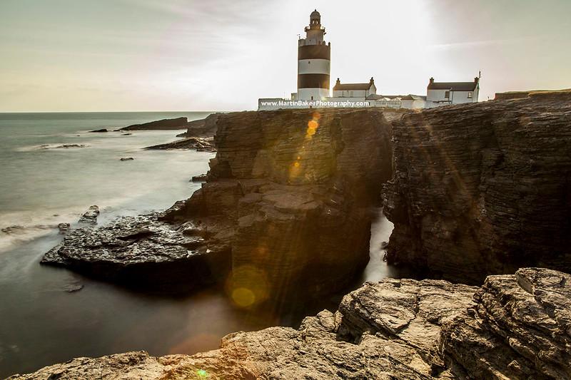 Hook Lighthouse, Hook Head Peninsula, Wexford, Ireland.