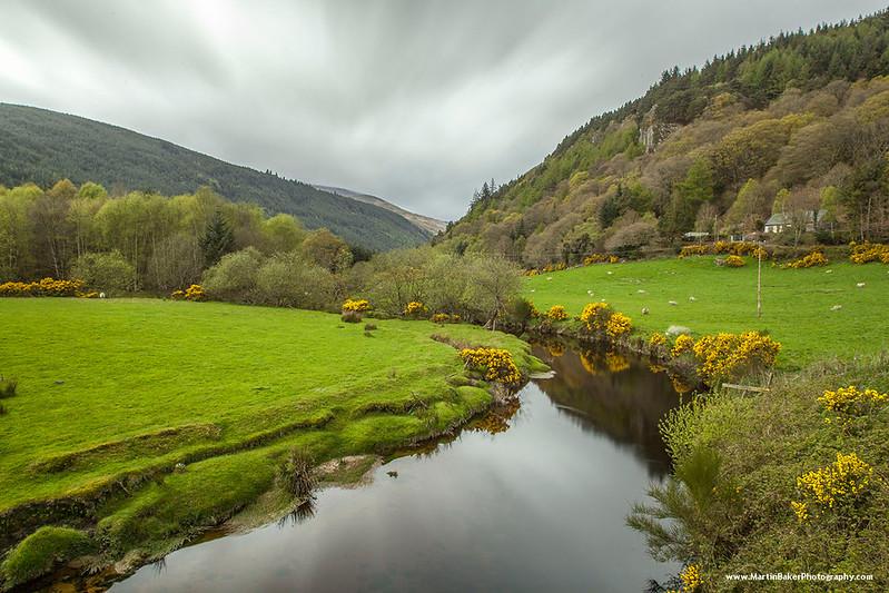 Avonbeg river, Glenmalure, Wicklow, Ireland.