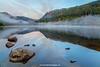 Lower Lake, Glendalough, Wicklow Mountains National Park, Wicklow, Ireland.