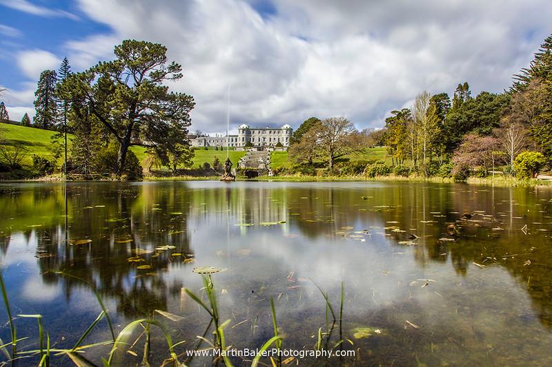 Powerscourt House and Gardens, Wicklow, Ireland.