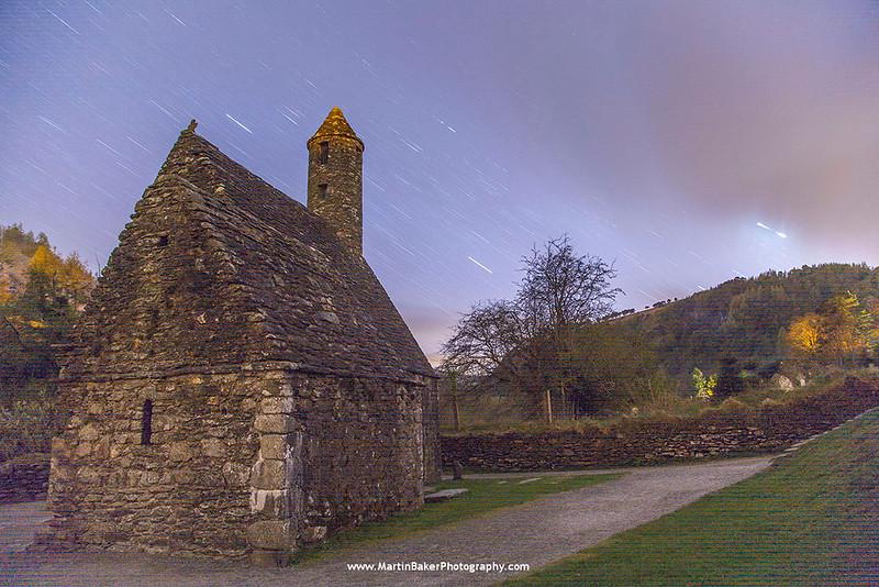 St. Kevin's Church, Monastic City, Glendalough, Wicklow, Ireland.