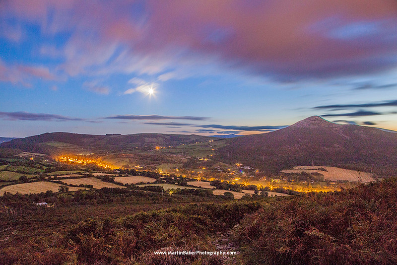 The Great Sugar Loaf, Wicklow Mountains, Wicklow, Ireland.