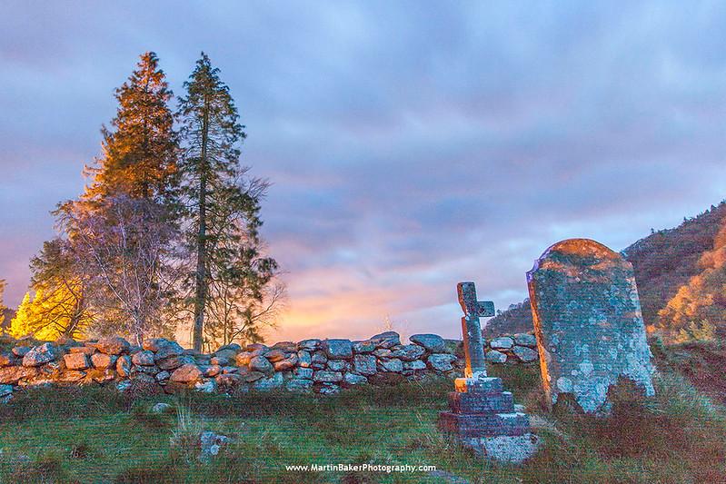 Glendalough Monastic City, Wicklow, Ireland.
