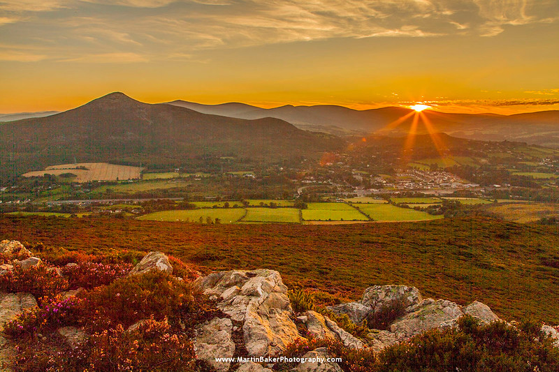 The Great Sugar Loaf, Wicklow, Ireland.