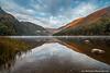Upper Lake, Glendalough, Wicklow Mountains National Park, Wicklow, Ireland.