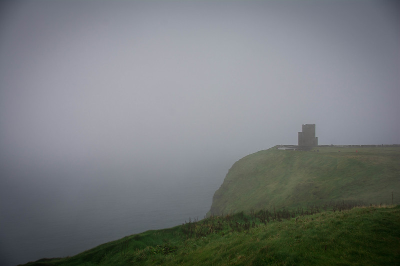cliffs of moher fog