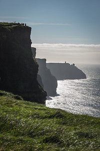 Misty View of the Cliffs of Moher
