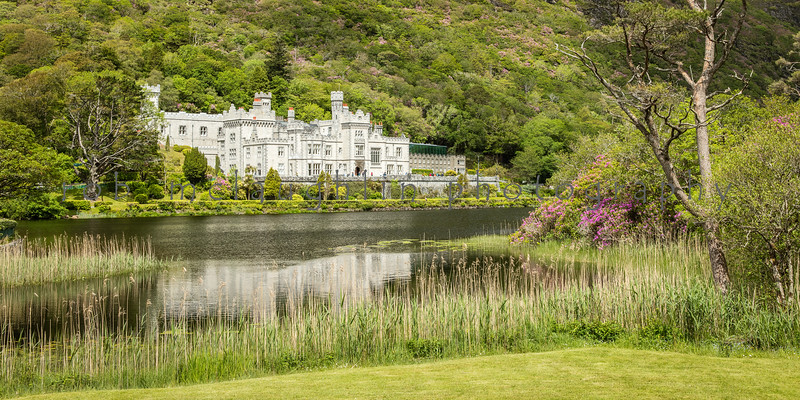 Kylemore Abbey Reflection , County Galway, Ireland