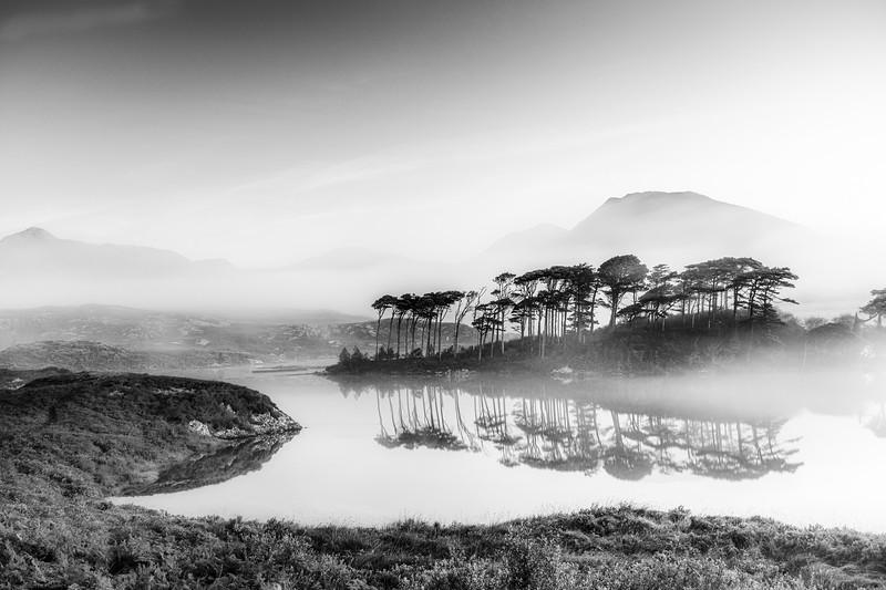 Dawn at Derryclare, Connemara