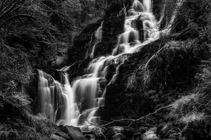 The cascades at Torc, Killarney