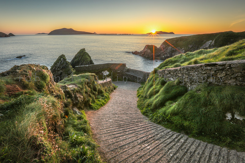 Dunquin Pier Sunset, Dingle Peninsula, Ireland