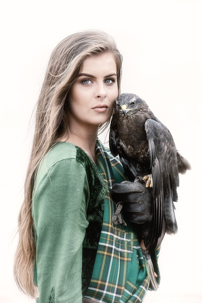 Beauty and the buzzard