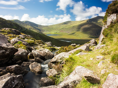 Mountain Stream at Pedlar's Lake in #Kerry