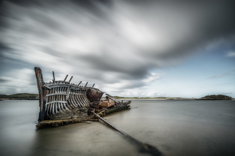 The ribs of ruin