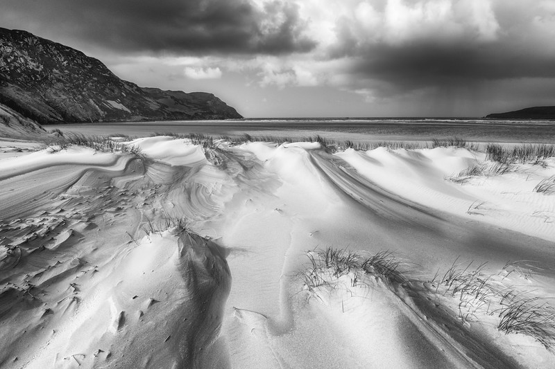 The beach at Maghera, Donegal