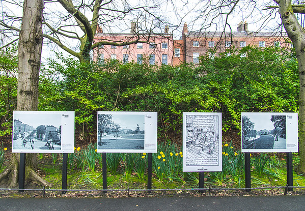 Commemorative Plaques in St Stephen's Green