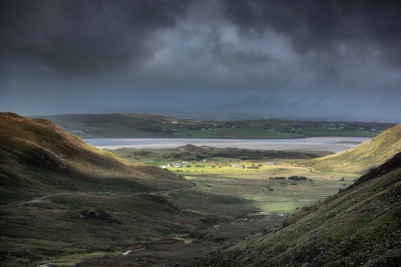 View from Glengesh