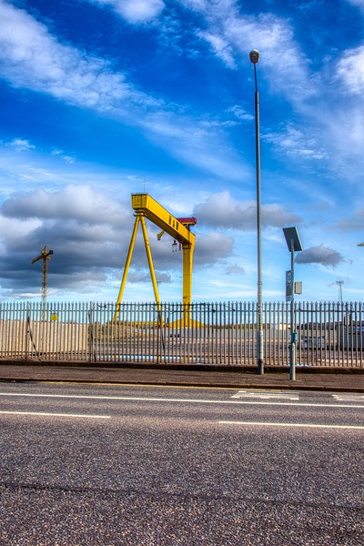 Harland and Wolf Shipyard - Belfast