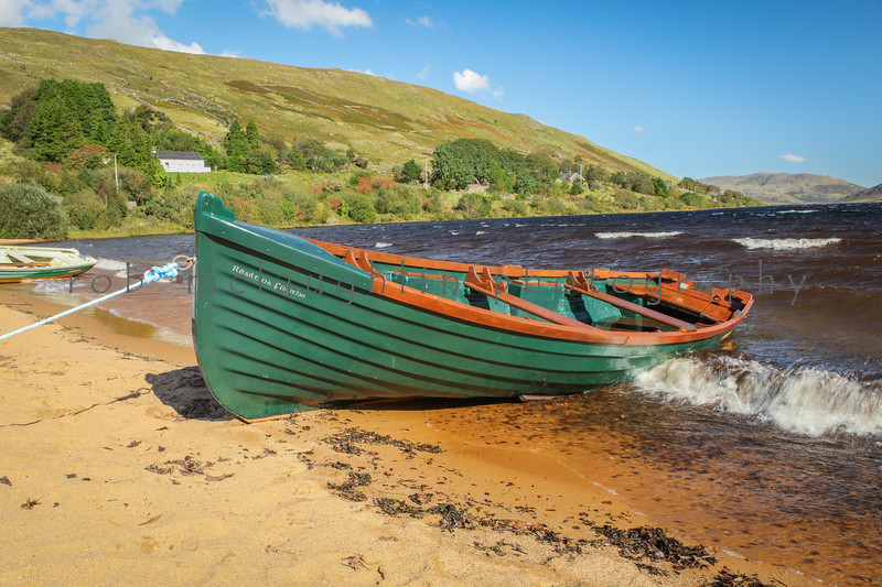 Irish Fishing Boat, Loch Na Fooey, Ireland