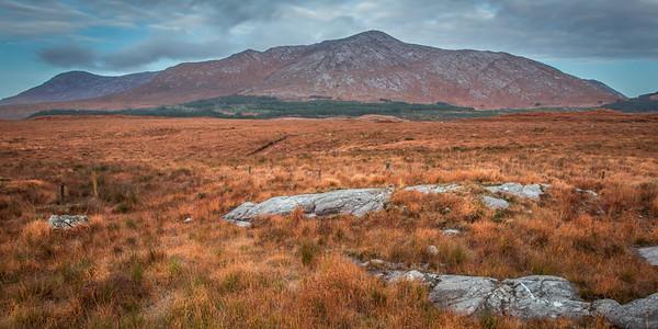 Twelve Bens, Connemara, Ireland