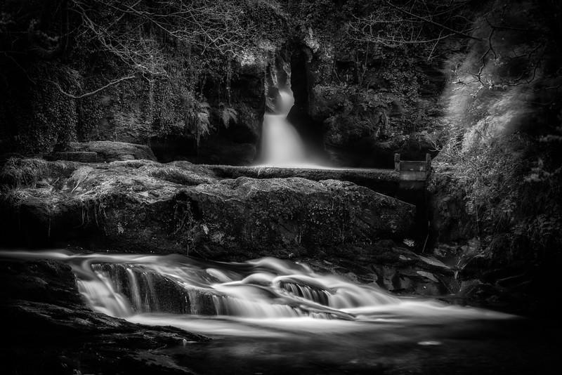The small falls at Donemark