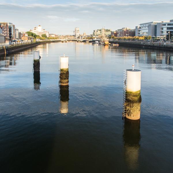 River Liffey cityscape